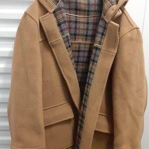 Men's XL Burberry winter coat